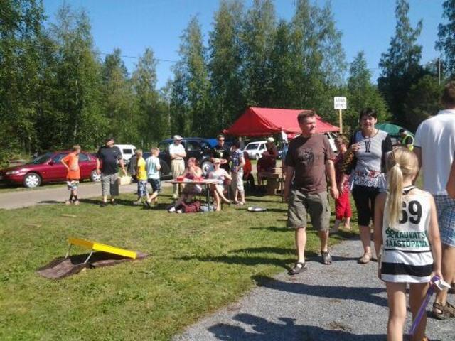Kauvatsa-päivän yleisöä. Kuva: Markus Sainio